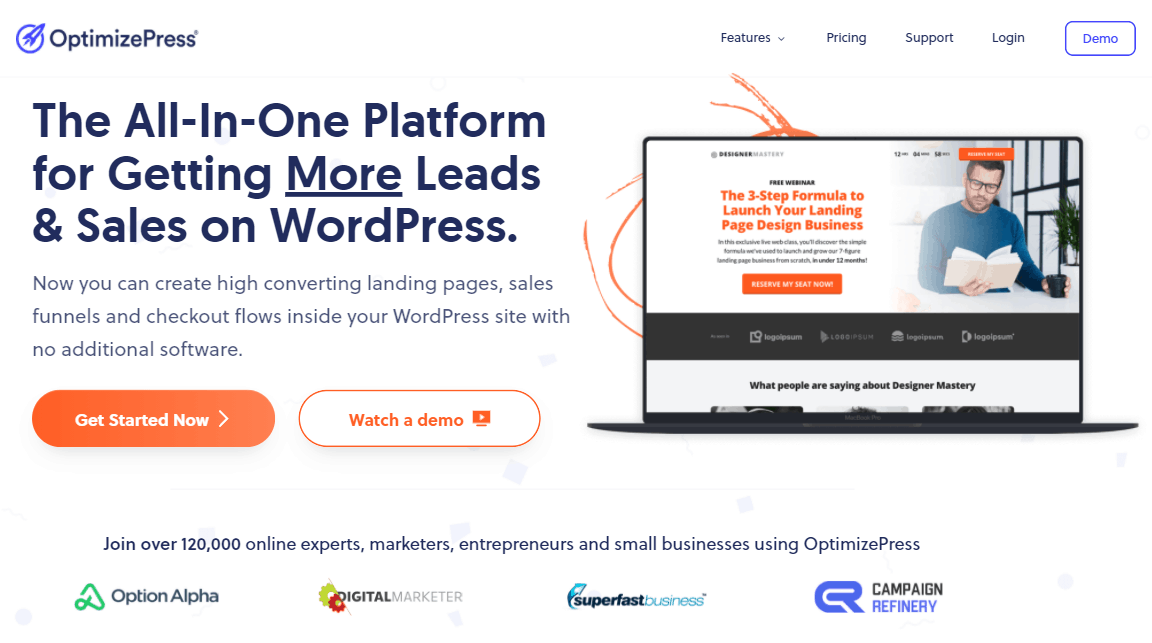 optimizepress header 3